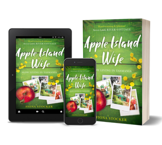 Apple Island Wife by Fiona Stocker is available from Amazon Australia in paperback and e-book.